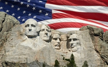 Presidents Day Mt Rushmore